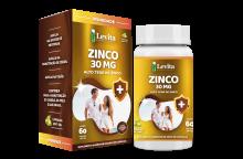 ZINCO LEVITA 30MG/300MG C/ 60 CAPS