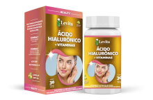 ACIDO HIALURONICO + VITAMINAS LEVITA  350MG C/ 30 CAPS